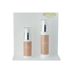 Crema viso e serum luminage; prodotti realizzati per ridurre la visibilità delle macchie e per tonificare il viso