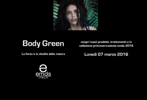 Presentazione Body Green emds italy